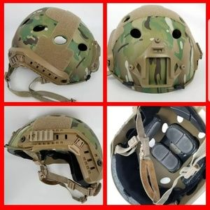 Multicam Camo Military Helmet Halloween Costume
